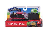 Chuggington паровозик с вагончиком Пит