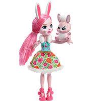 Mattel Enchantimals DVH88 Кукла Бри Кроля, 15 см