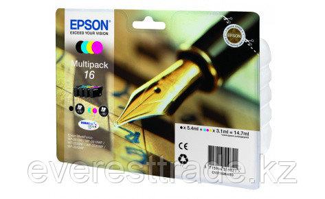 Картридж Epson C13T16264012 мультипак для WF2010 new, фото 2