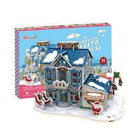 Рождественский домик 2 (с подсветкой)