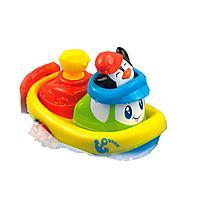 """Заводная игрушка для ванны """"Кораблик"""" - Пингвин"""