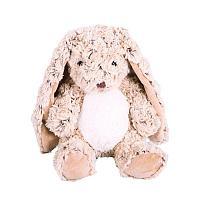 Кролик сидячий шоколадный, 21 см