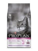 Pro Plan Deliсate 10кг Индейка Сухой корм для кошек с чувствительным пищеварением, фото 1