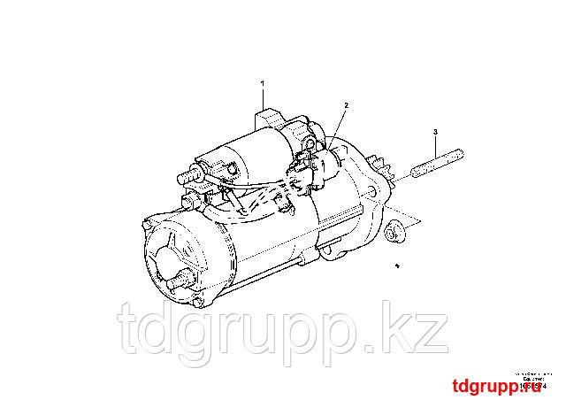 VOE17233221 Стартер (Starter) Volvo EC480E