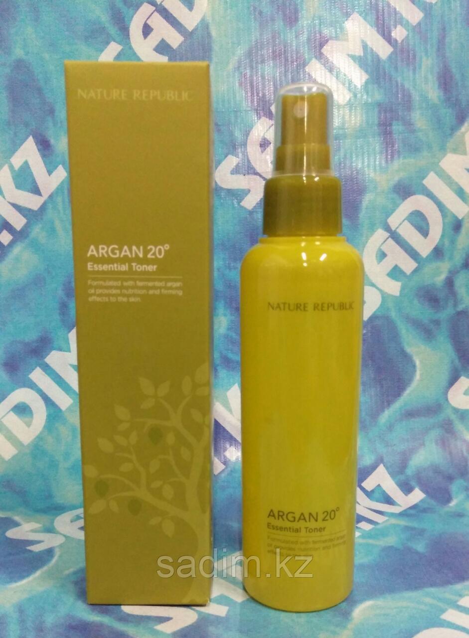 Nature Republic Argan 20 Oil Essence - Эссенция-тонер с маслом Арганы