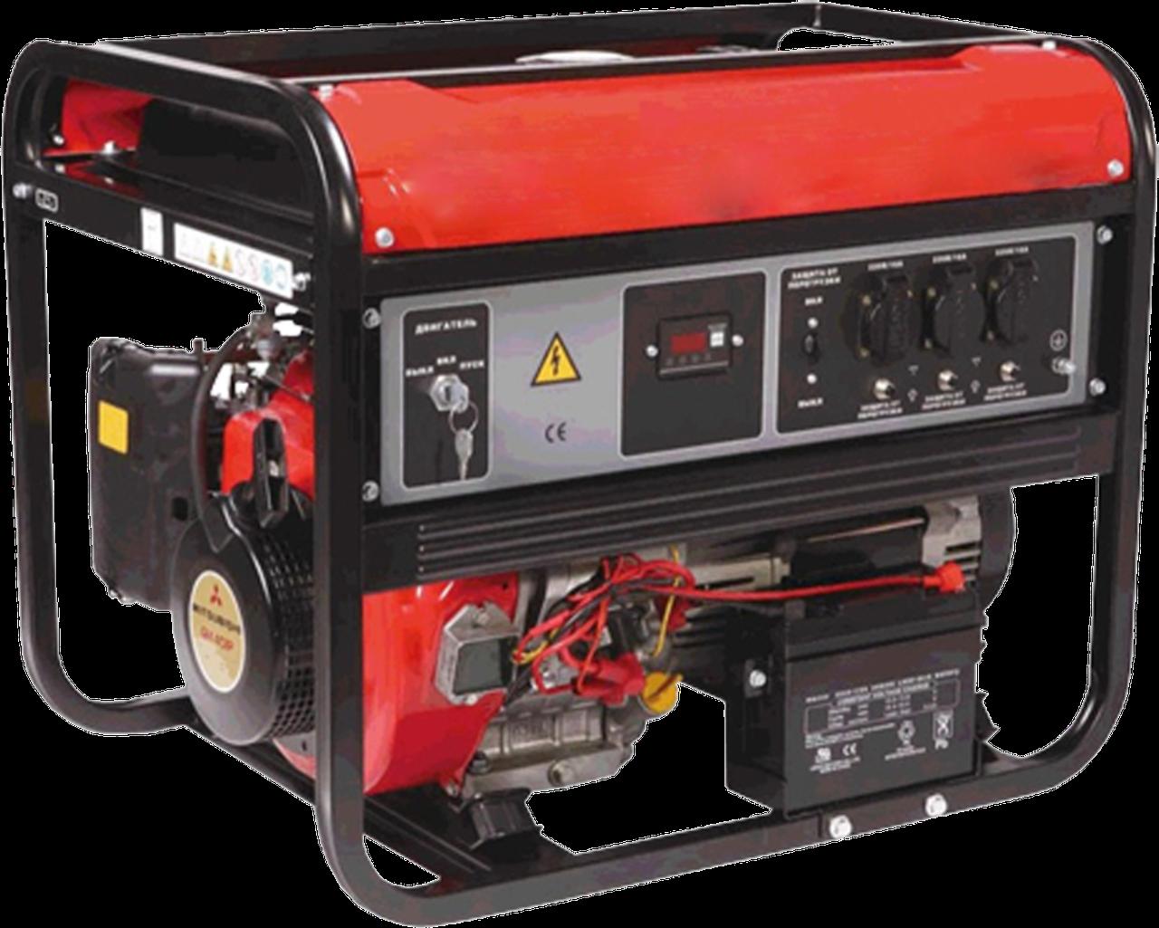 Бензиновый генератор ZZ 4700 LPG