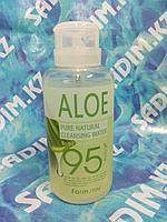 FarmStay Pure Cleansing water Aloe - Очищающая вода с экстрактом алоэ