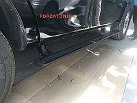 Электрические выдвижные пороги подножки для Nissan Patrol