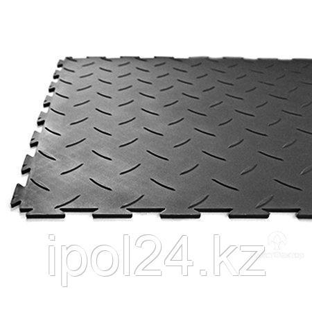 Модульный пол из полимеров  SENSOR RICE 7мм, 5мм х500х500мм