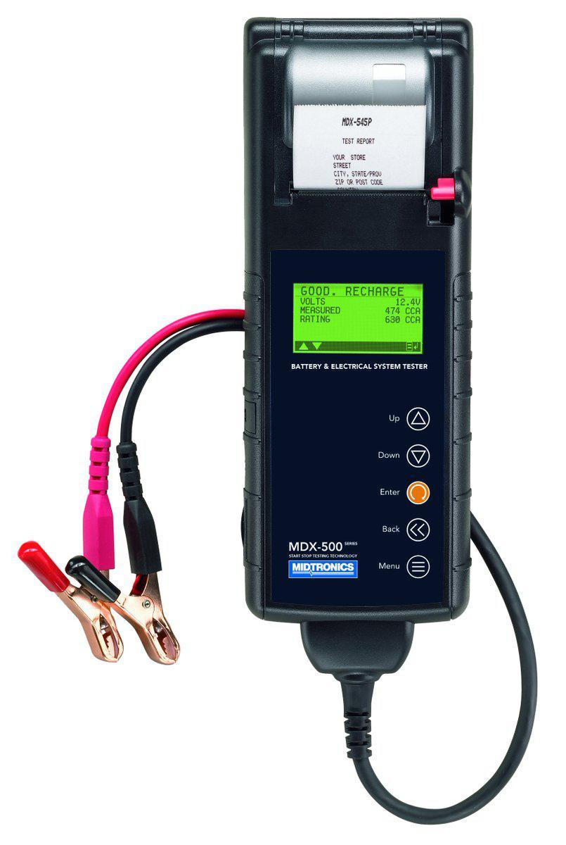 Тестер аккумуляторных батарей с термопринтером ™Midtronics