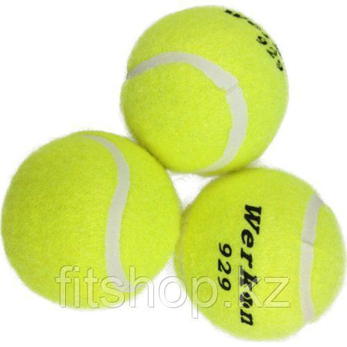 Высококачественный теннисный мяч для тренировок 3 шт