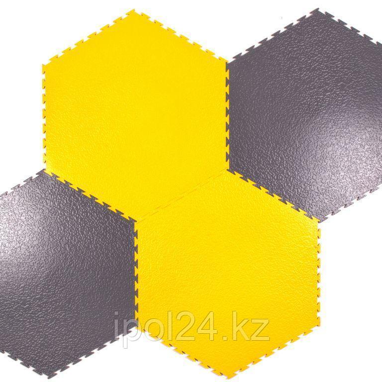 Модульный пол из полимеров  SENSOR SOTA 7мм,5мм х500х500мм