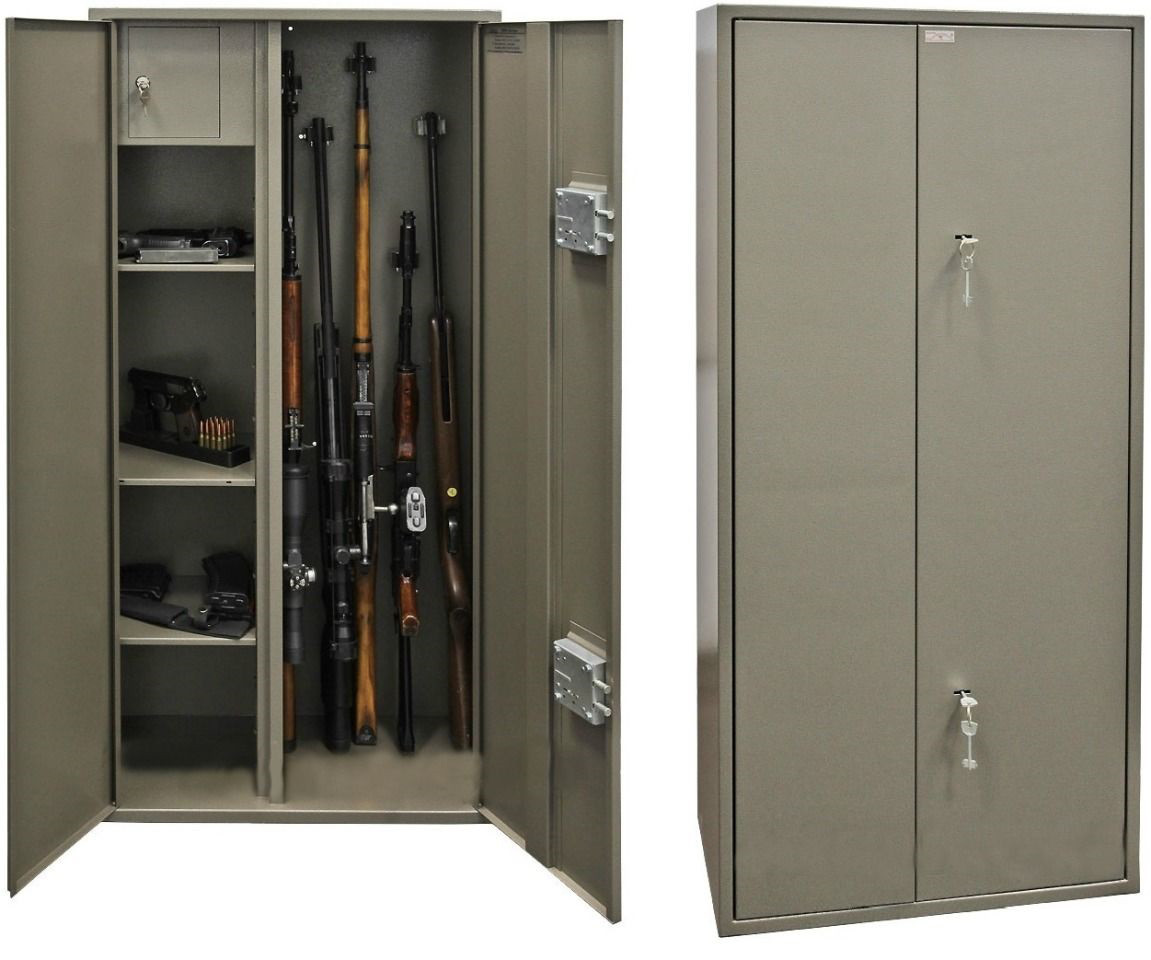 Купить шкаф оружейный Д-10 в РК. Доставка по РК бесплатно!!!