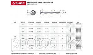 Саморезы ПШМ для листового металла, 19 х 4.2 мм, 35 шт, ЗУБР, фото 2
