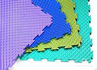 Модульный пол из полимеров FACTOR 6мм, 8мм х375х375мм