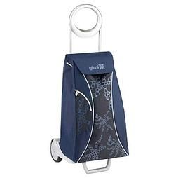 Брендовая сумка-тележка Market синий от Gimi