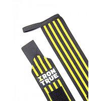 Бинт кистевой 50cm IRONTRUE (Черный-Желтый)