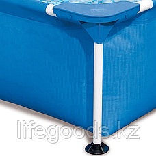 Каркасный бассейн прямоугольный 221х150х43 см, Bestway 56401, фото 3