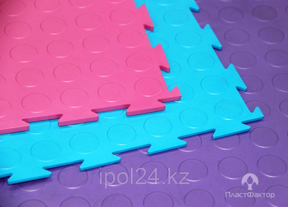 Модульный пол из полимеров SENSOR YOGA 7 х500х 500 мм