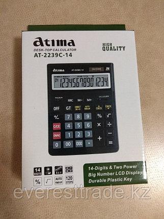 Калькулятор настольный Atima AT-2239C-14, фото 2