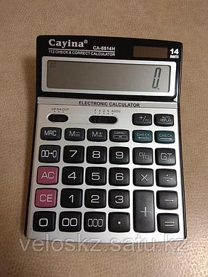 Калькулятор настольный Cayina CA-6814H, фото 2