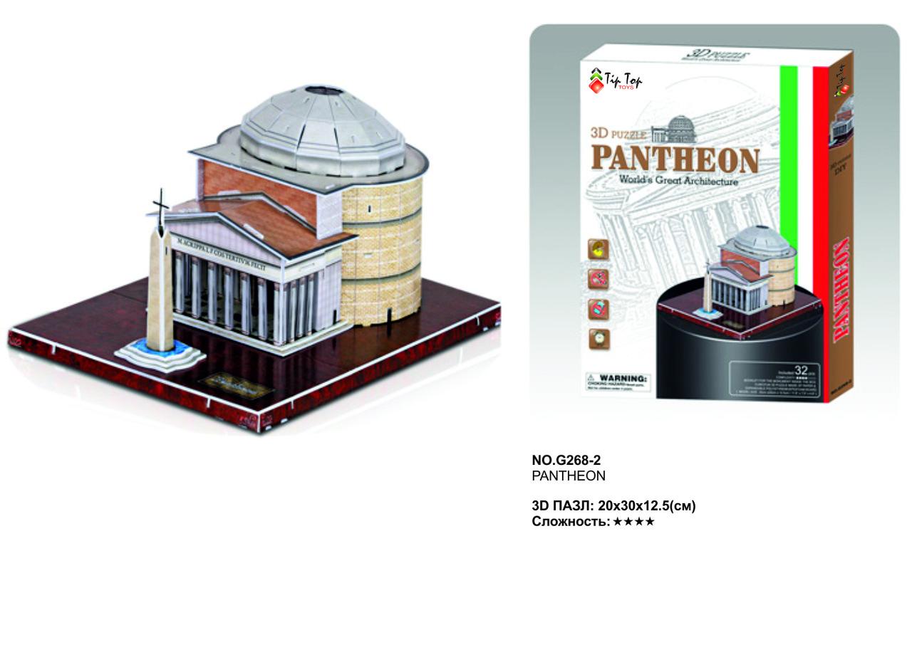 Пазл 3Д.Пантеон