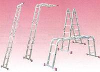 Алюминиевая лестница шарнирная МULTIMATIC 4х4 S Н=4,70/5,50м, фото 1