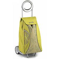 Брендовая сумка-тележка Market желтый от Gimi (Италия).