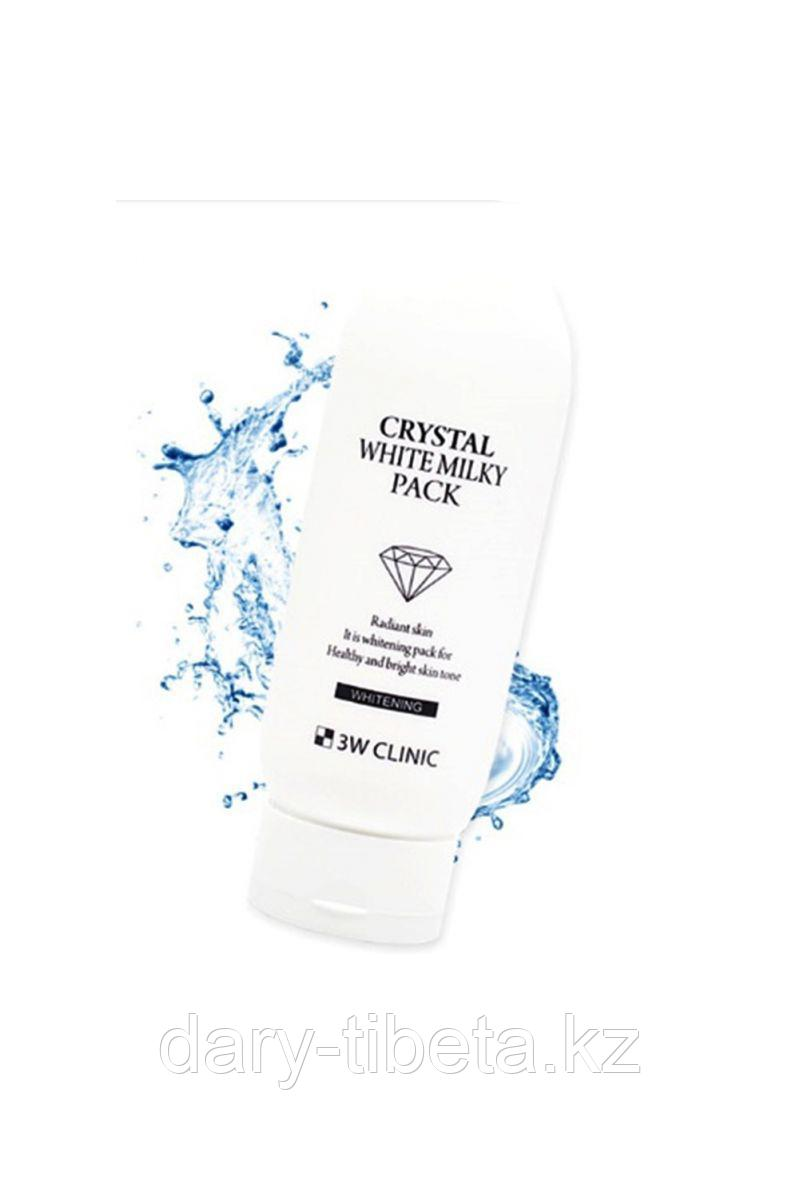 3W Clinic Crystal White Milky Pack-Маска для лица