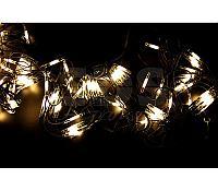 """Гирлянда """"Сеть"""" 2x3м, черный КАУЧУК, 432 LED Тепло-белые"""