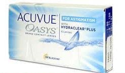 Линзы Auvue Oasys for Astigmatism, 6шт