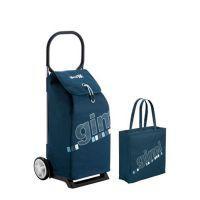 Брендовая сумка тележка ITALO синяя от Gimi