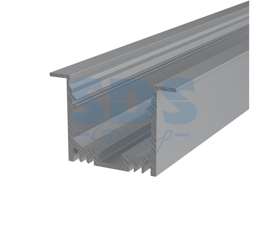 Профиль врезной алюминиевый 5032-2 REXANT, 2м - фото 1