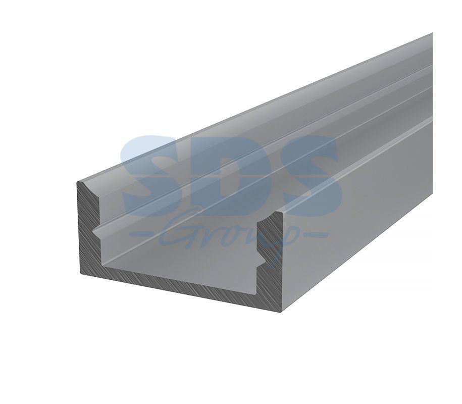 Профиль накладной алюминиевый 1607-2 REXANT, 2м - фото 1