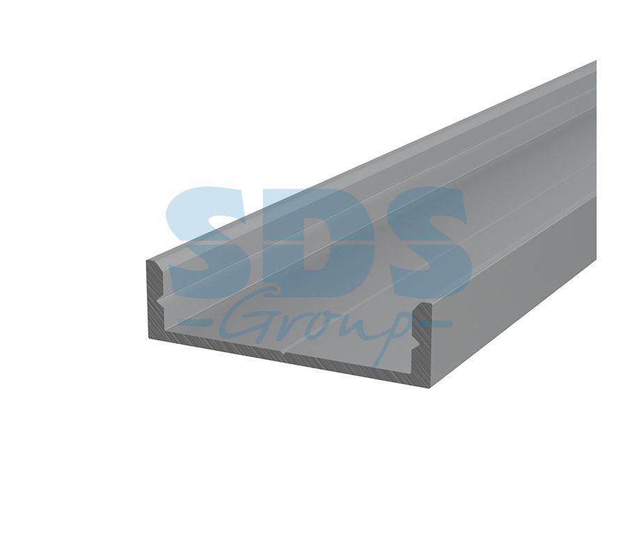 Профиль накладной алюминиевый 2807-2 REXANT, 2м - фото 1