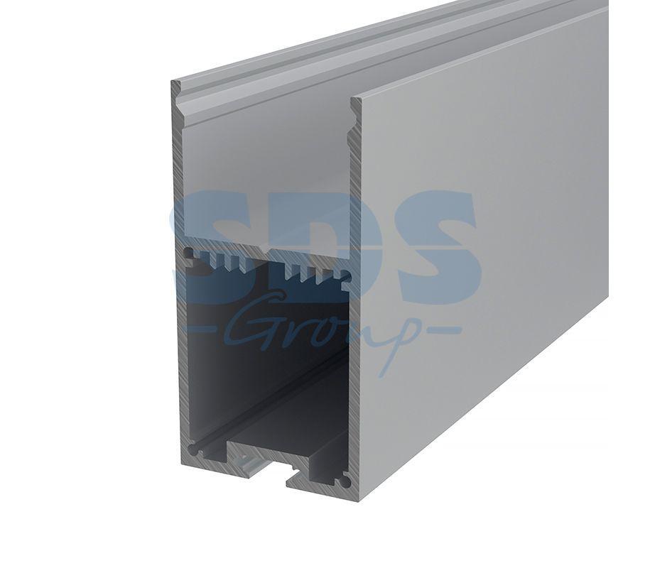 Профиль накладной алюминиевый 3567-2 REXANT, 2м - фото 1