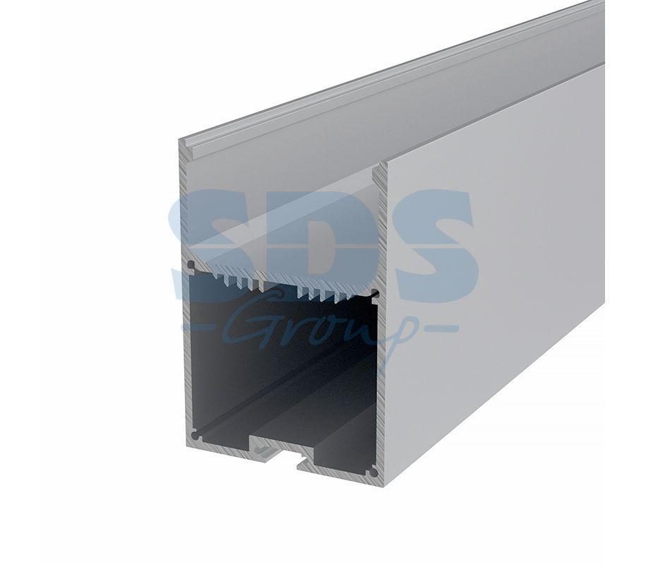 Профиль накладной алюминиевый 5070-2 REXANT, 2м - фото 1