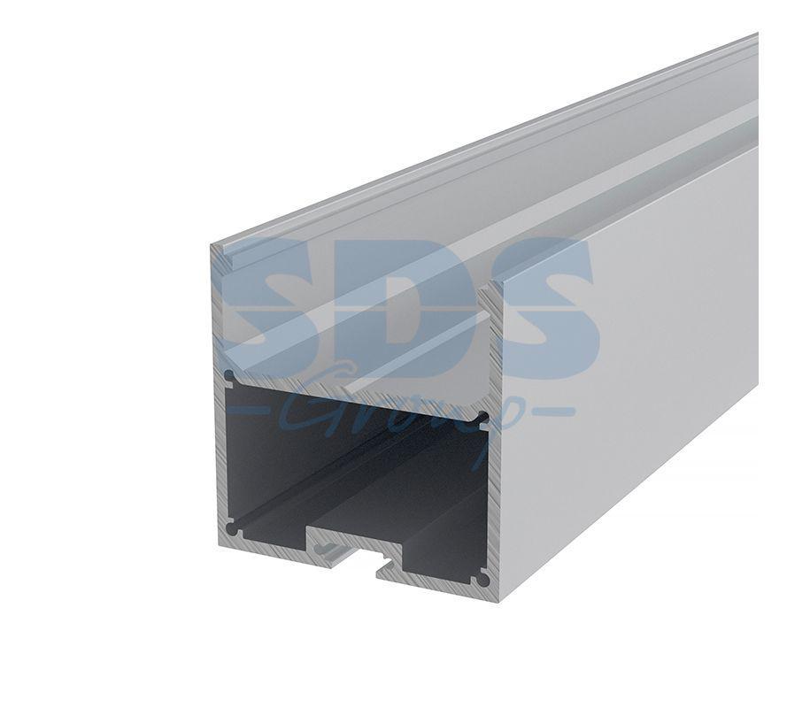 Профиль накладной алюминиевый 5050-2 REXANT, 2м - фото 1