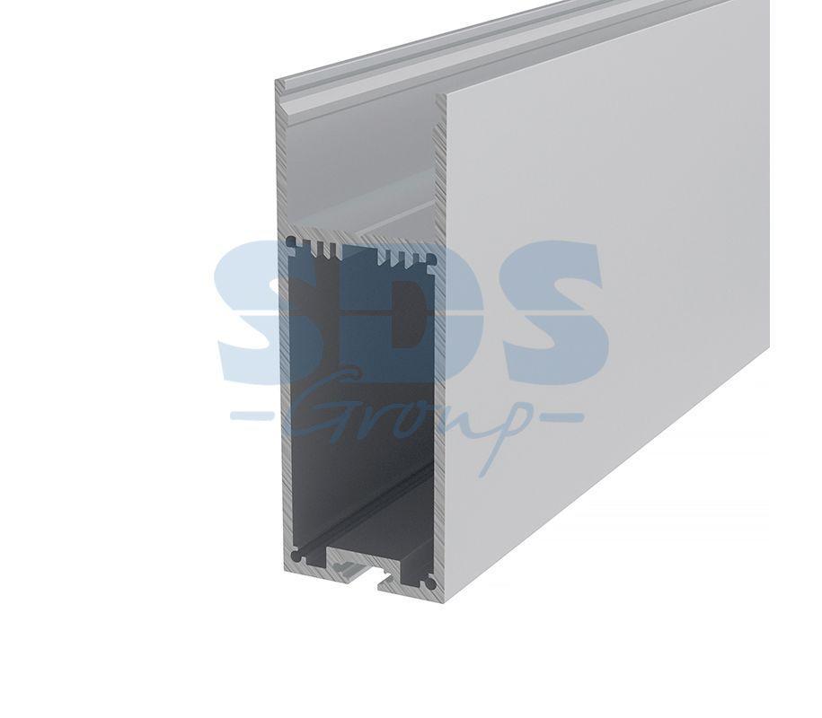 Профиль накладной алюминиевый 3590-2 REXANT, 2м - фото 1