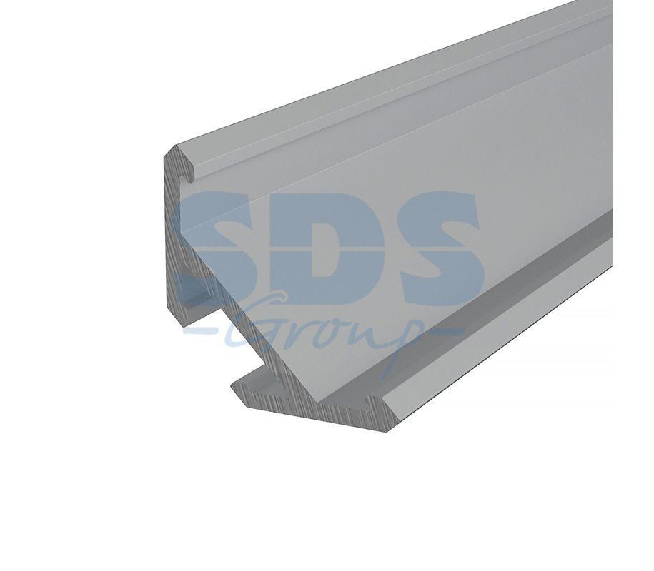 Профиль угловой алюминиевый 1515-2 REXANT, 2м - фото 1