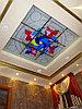 Витраж в потолке, V-108