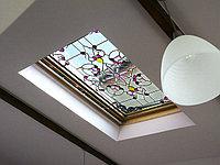 Витраж в потолке, V-113