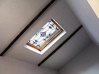 Витраж в потолке, V-114