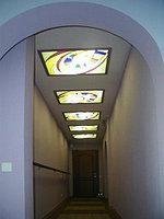 Витраж в потолке, V-116