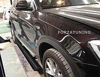 Электрические выдвижные пороги подножки для BMW X4