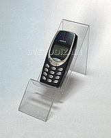 Подставка для сотовых телефонов и смартфонов с ценникодержателем. Модель: М4-005