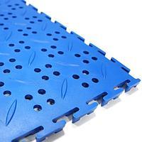 Модульный пол из полимеров CANAL  12х375 х 375 мм