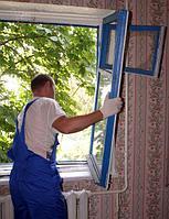 Ремонт и замена стекла на деревянных окнах