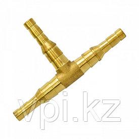Штуцер тройной(тройник) бронза ф8