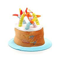 Шляпа на день рождения, торт, 8 свечей.